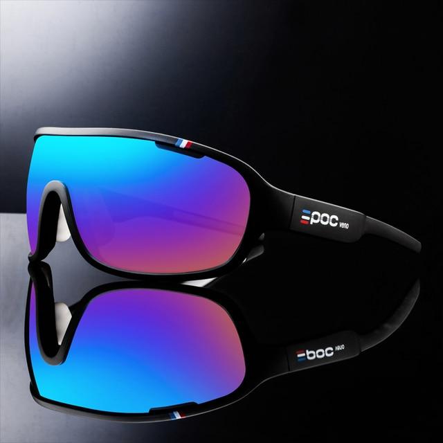 Poc do blade frança especial 4 lentes da bicicleta óculos de sol do esporte mtb óculos de ciclismo 1