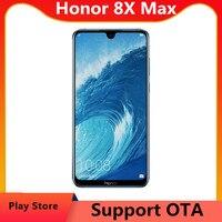 DHL entrega rápida Honor 8X Max 4G LTE teléfono celular 7,12