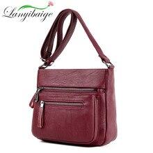 Kadın tasarımcı lüks çanta 2020 moda yüksek kaliteli yumuşak deri çanta kadın çanta çok cep omuz askılı çanta