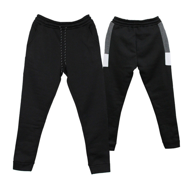 Men's Fitness Training Large Size Sports Warm Pants  5