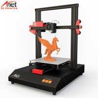Nouveauté 2.8 ''tactile Anet ET4 bricolage 3D FDM imprimante 3D nivellement automatique et chargement Filament détection reprise impression 8GB Micro SD