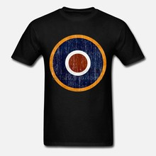 Raf Rondel WW2 Spitfire Doel Royal Air Force Vaders Dag Premium T-shirt Nieuwe T Shirts Grappig Tops Tee Nieuwe Unisex grappig Tops(China)