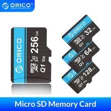ORICO – Mini carte Micro SD, 32 go/64 go/128 go/256 go, 80 mo/s Max, TF, mémoire Flash