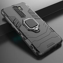 XIAOMI-funda híbrida a prueba de golpes para Redmi Note 8 Pro, carcasa protectora con soporte de anillo para coche, para Mi 10, Redmi Note 8T, 9, 9S, Poco X3, F2 Pro