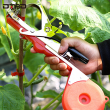 Tying Machine Plant Garden Tapetool Tapener With 10 Rolls Tape and 1Box Nail for Vegetable,Grape,Tomato,Cucumber,Pepper Flower