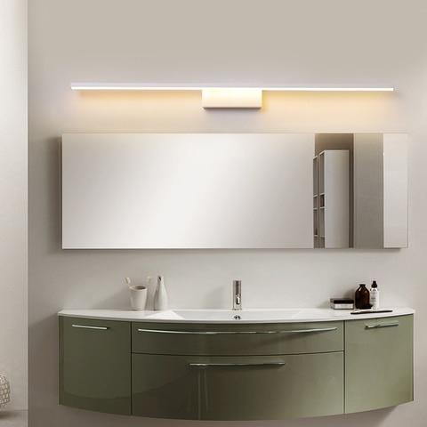 led espelho luzes para banheiro de cabeceira