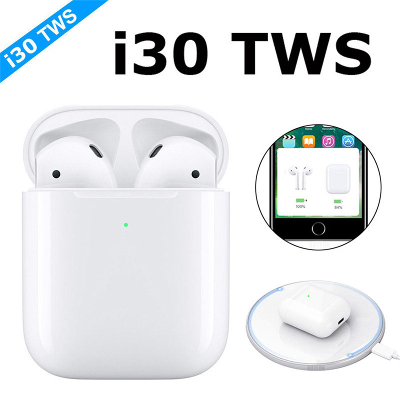 2019 New i30 TWS POP UP i30 tws Wireless Earphone Bluetooth 5.0 earphones Touch Earbuds Not W1 Chip i9s i10 i12 i60 i80 i100 tws