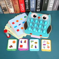 Surwish 2 In 1 Children Memory Detective Game Shape Color Matching Training Toy Wooden Montessori Toys Children Early Education