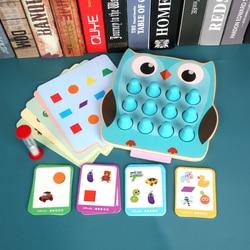 Surwish 2-em-1 crianças memória detetive jogo forma cor correspondência treinamento brinquedo de madeira montessori brinquedos crianças educação precoce