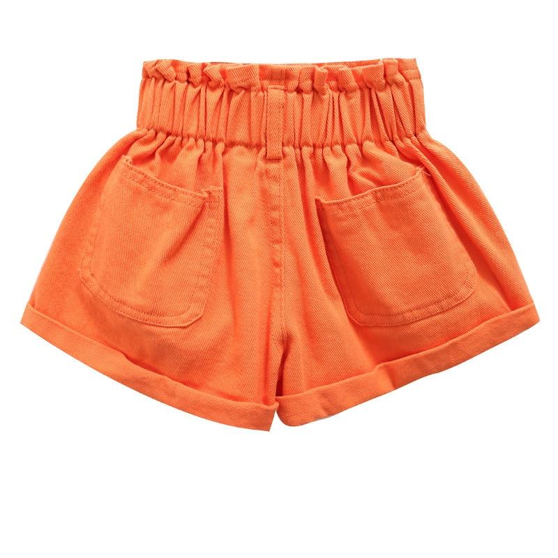 2020 Girl Summer  Kids Children Fashion Hot Jeans Denim Shorts Three Colors 6