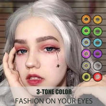 Contact-Lense Hotsale Eye-Color 3tones Popular International