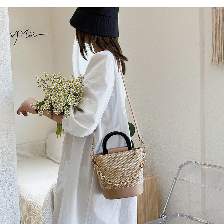 Beautiful Straw Crossbody Bag
