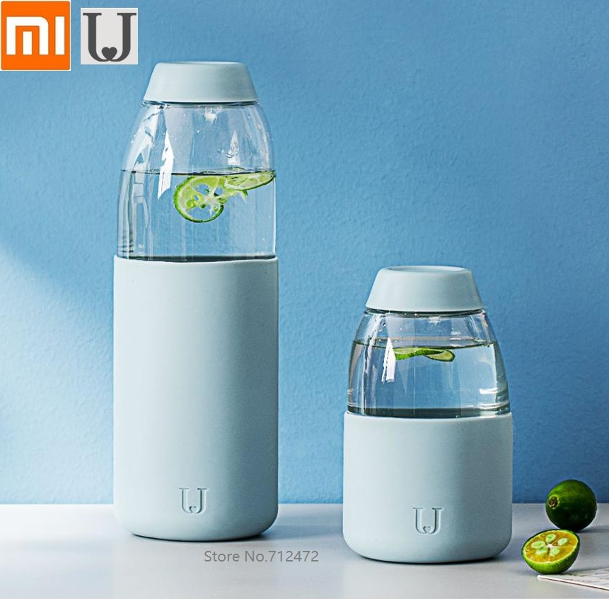 Xiaomi Jordan & Judy Porable Water Bottle Home Office Tritan Fruit Tea Cup Heat Resistant Anti-fall
