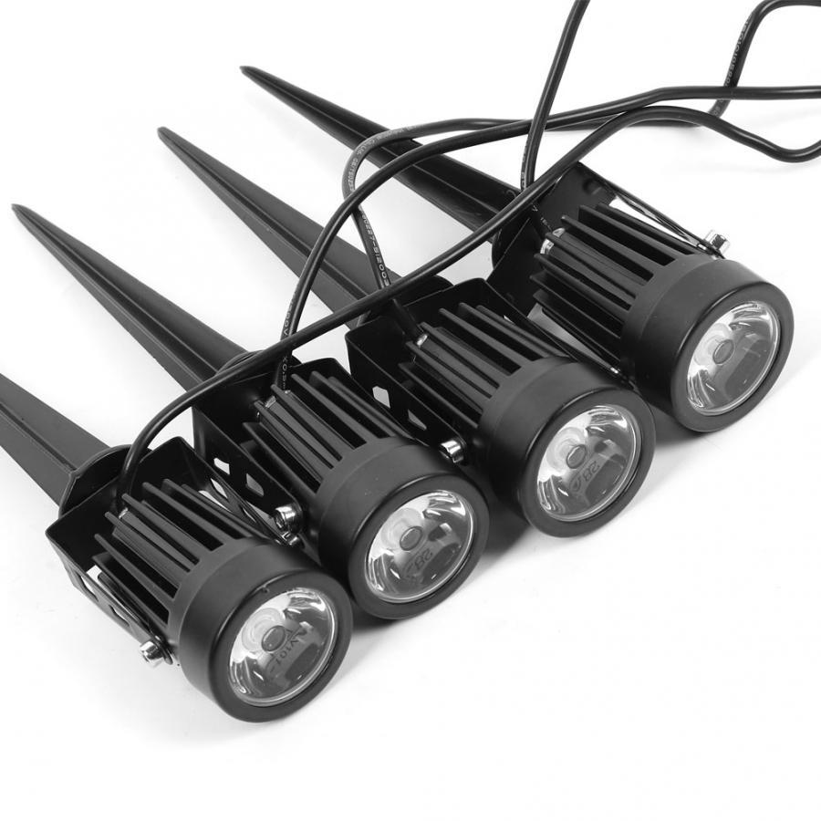 4W LED luz Solar de tierra luz exterior proyector para césped jardín Luz de jardín - 6