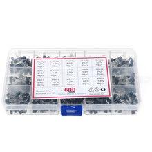 600Pcs 15Value x 40 Pcs Transistor TO-92 Assortment Box Kit With Box