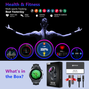 Image 5 - Zeblaze THOR 5 פרו חכם שעון 3GB זיכרון RAM + 32GB ROM 5.0MP כפולה מצלמות כושר פעילות Tracker לב שיעור צג 4G Smartwatch