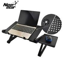 アルミ合金調整可能なノートpcデスクベッド立ちノートブック冷却ファンマウスボードとスタンドベッドソファトレイ