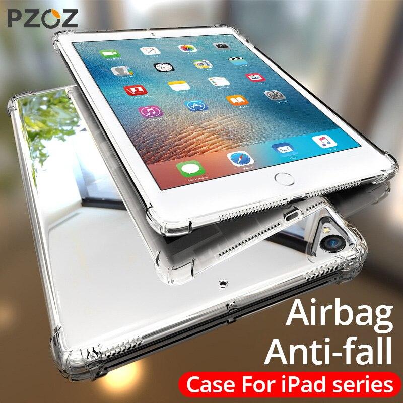 PZOZ Per Il Caso di iPad Air Pro 10.2 10.5 9.7 pollici 2020 2019 mini 2 3 4 5 Antiurto In Silicone Morbido per Il caso di iPad Pro 11 12.9 pollici