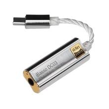 IBasso – adaptateur amplificateur de casque USB DAC DC03 de Type C à 3.5mm, pour PC Android, HiFi, HiRes, câble adaptateur pour xiaomi bluedio kz