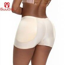 Guudia bunda levantador shaper mulheres bunda acolchoada calcinha emagrecimento corpo shaper quadril enhancer sexy barriga controle calcinha cintura