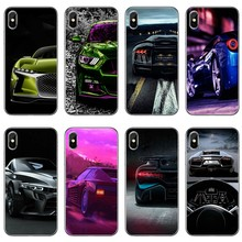 Phone Case Best Sports car For Sony Xperia Z5 C6 L2 XA1 XA2 XZ1 XZ2 compact Premium LG G5 G6 G7 Q6 Q7 Q8 Q9 V30(China)