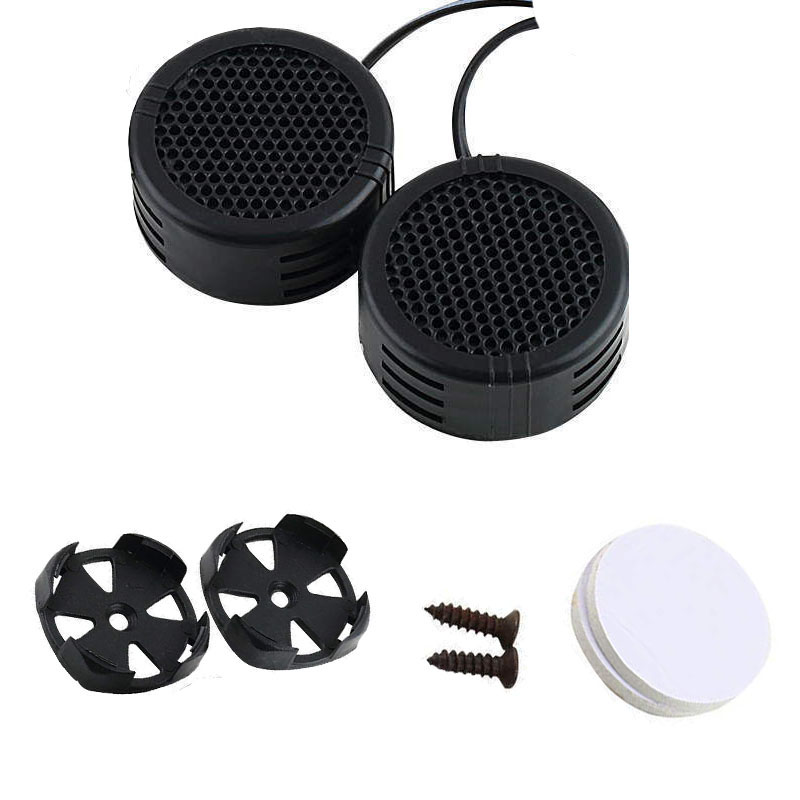 2x Car Mini Dome Tweeter Loudspeaker Loud Speaker Super Power For Car 500W Audio Auto Sound Car Tweeters