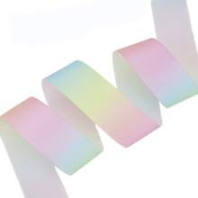 (5 ярдов/партия) 1 «(25 мм) градиентная цветная Радужная лента grosgrain тесьма DIY украшения ленты оптом