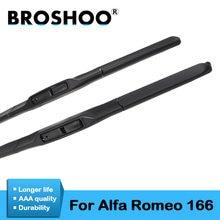 Автомобильные дворники broshoo резиновые лезвия для alfa romeo