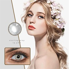 2pcs pair Contact Lenses Colored Contact Lenses For Eyes Colored Blue Brown Colorful Beauty Eye Contact Lenses Eye Color 8ml cheap Combo Strip Lashes CN(Origin) Mink Hair 0 5-1cm Other False Eyelashes Semi-Hand Made Full Size