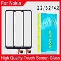 Высококачественное Стекло сенсорного экрана для Nokia 2,2 Nokia 3,2 Nokia 4,2 сенсорный экран дигитайзер стекло сенсор Замена