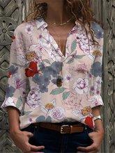 Новая рубашка большого размера универсальная женская темпераментная