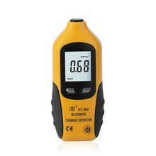 HT-M2 Professional Digital LCD Display Microwave Leakage Detector High Precision Radiation Meter Tester 0-9.99mW/cm2 цена