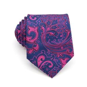 Image 5 - Wholesale (20 pieces / Lot ) Classic 100% Silk Mens Ties Neck Ties 8cm Paisley Ties for Men Business Wedding Party Gravatas