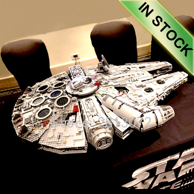 05132 In Stock Star Model Wars The Millennium Ultimate Collector's Destroyer 75192 8445Pcs Building Blocks Bricks Toys