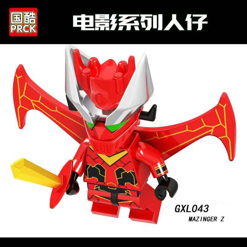 Single Sale Enlighten Legoinglys Cartoon Movie Figures Mazinger Z Bricks Building Blocks Learning Toys For Children Gifts