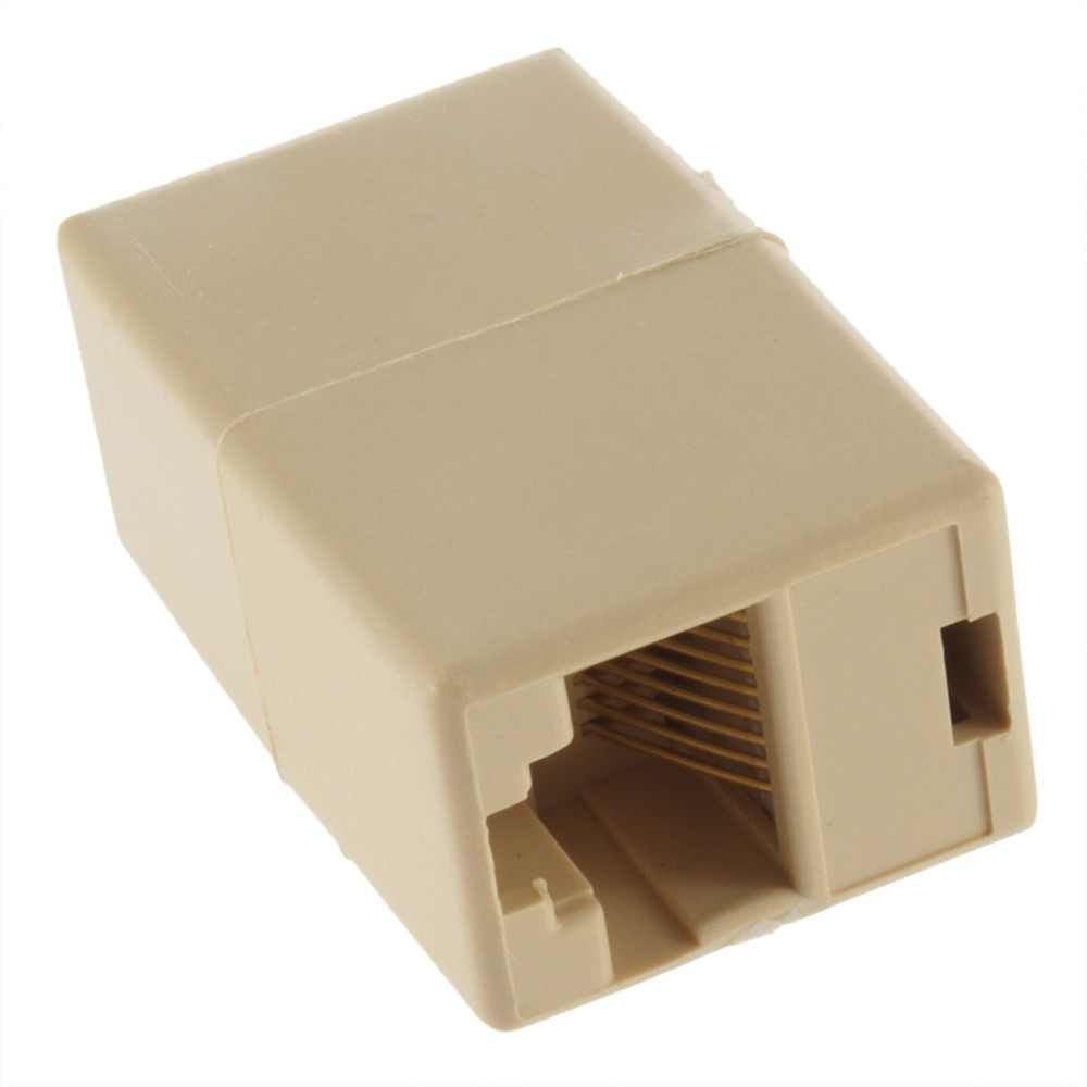 RJ45 KAT 5 5E Ethernet Lan-kabel Joiner Coupler Connector Koppeling Jointer Plug