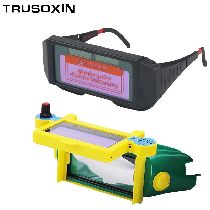 Pro Solar Auto Darkening Welding Helmet Len Goggle Shade DIN9-DIN13