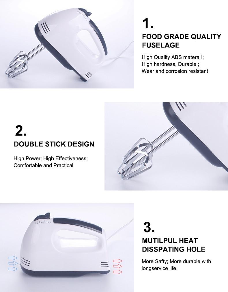 Hd33b2d9c186040e0b37020a0d1c87d71j 7 Speed Control Hand Mini Mixer Food Blender Multifunctional Food Processor Kitchen Mini Electric Manual Cooking Tools