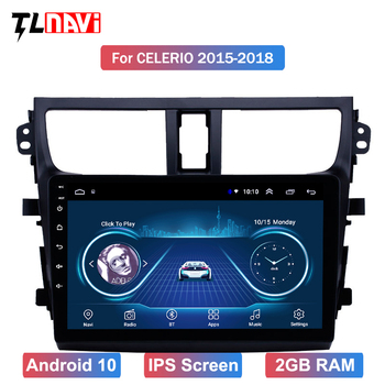 for 2015-2018Suzuki Celerio Android 10 HD Touchscreen 9 inch Head Unit car GPS Radio image