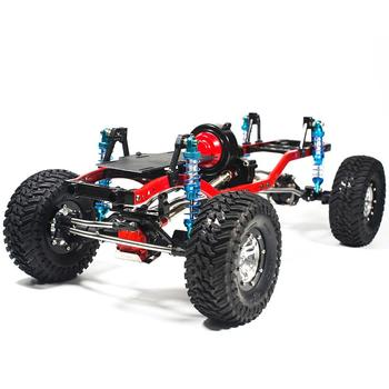 RCtown RC Racing CNC Aluminum Metal Frame for RC Car 1/10 AXIAL SCX10 Chassis 313mm Wheelbase Vehicle Crawler Cars Parts #0704