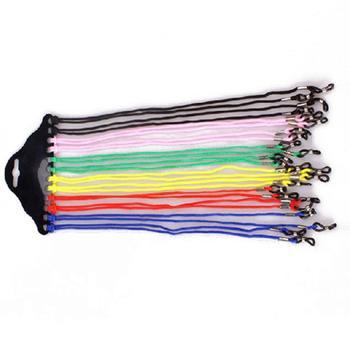60cm Nylon Sunglasses Reading Glasses Chain Strap Cable Lanyard Band Neck Anti Sports Slip Eyeglasse