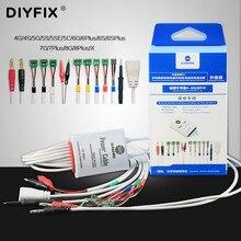 Sonnenschein SS 905A Für iPhone 4 8G/8 P/X Batterie netzteil Boot aktivierung test linie IC daten power kabel motherboard reparatur Linie