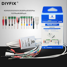 Sunshine SS 905A For iPhone 4 8G/8P/X Battery power supply Boot activation test line IC data power cable motherboard repair Line