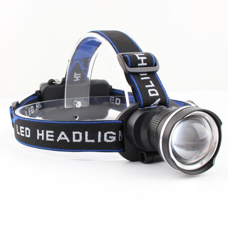Headlamps LED 18650 Battery Lighting Headlight Flashlight DC Car Charging 1200LM Camping Fishing Bicycle Head Lamp Torch Light