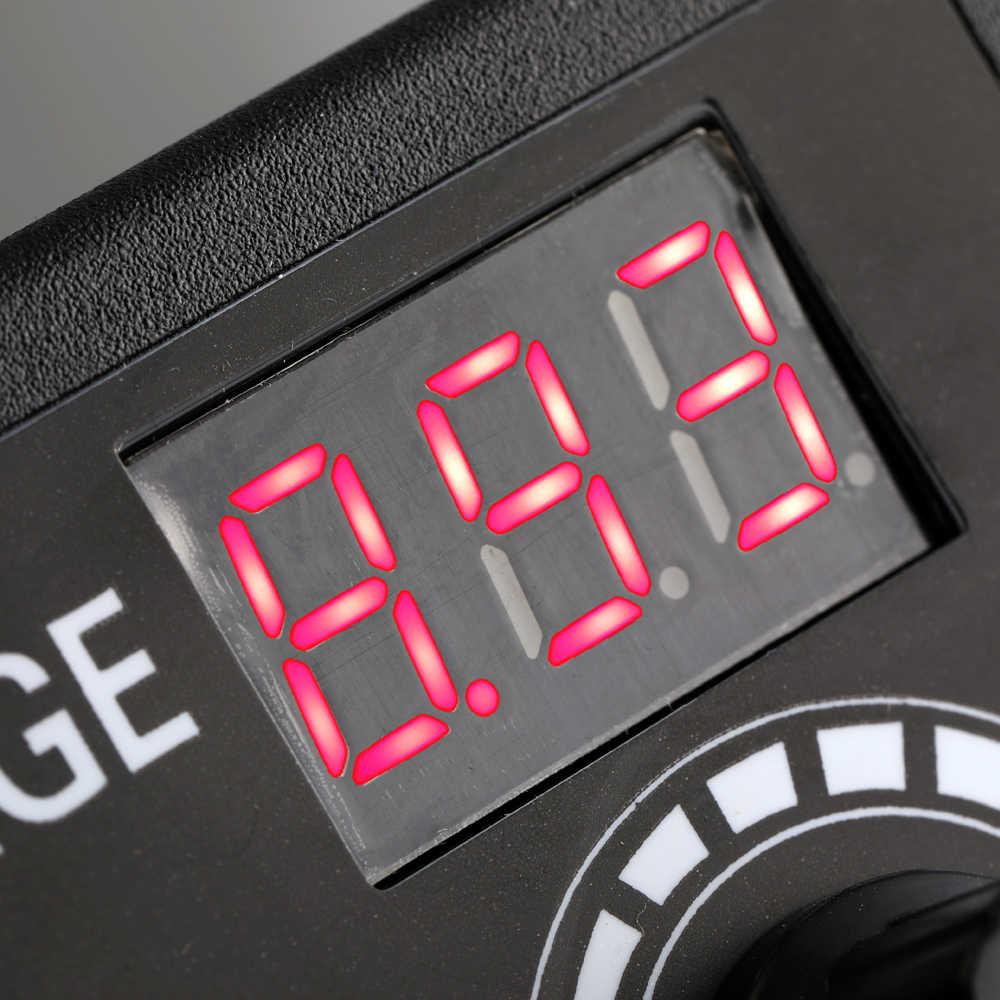 Регулируемая (жидкокристаллический дисплей) 9-24V 3A Универсальный Мощность адаптер Экран дисплея Мощность переключение многофункциональный переключатель высокого Мощность