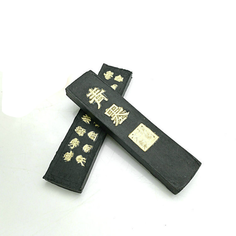 Tinta China Solid Pine Soot Ink Stick Calligraphy Inkstick Chinese Painting Ink Block Writing Grinding Inker Inkstone Sumi Ink