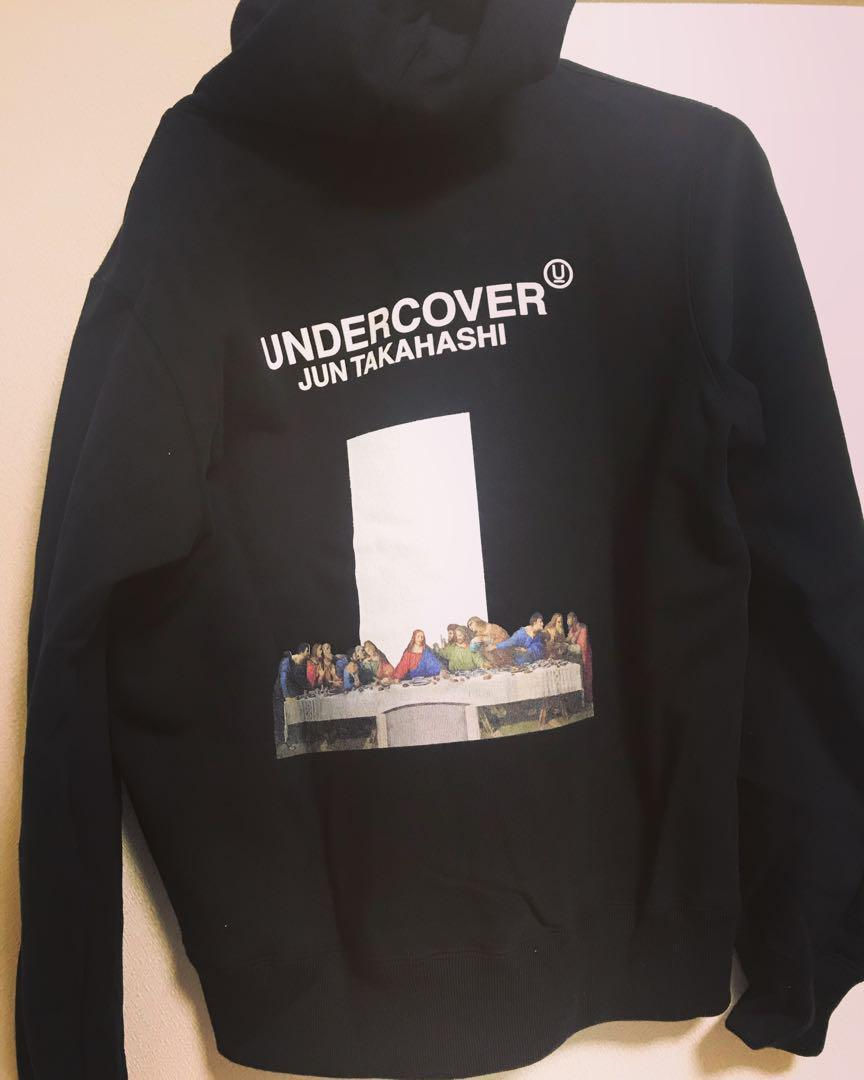 Undercover Last Supper Men'S Black Hoodie Rare Jun Takahashi From Japan Unisex Size S-3Xl
