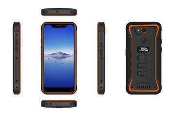 Перейти на Алиэкспресс и купить Водонепроницаемый смартфон GUOPHONE X3, 4G LTE, 1280*720 пикселей, IPS, 2 ГБ + 16 ГБ, 5,5 дюйма, Android 8,1, четырехъядерный MTK6739, сотовый телефон с GPS