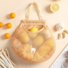 Organizer Storage-Bag Vegetable Eco-U3 Hanging Mesh Fruit