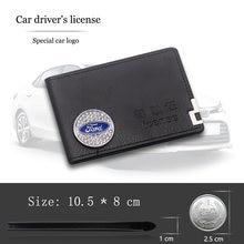 Кожаный Автомобильный Брелок с водительских вождения документы